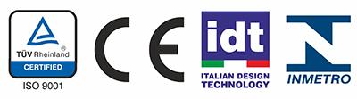 ISO 9001 CE Italian Design - balança analítica
